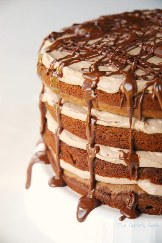 Drizzle Chocolate Layer Cake