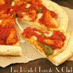 Fire Roasted Tomato Skillet Sauce Pizza