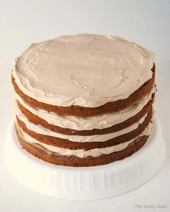 Four Layer Cake