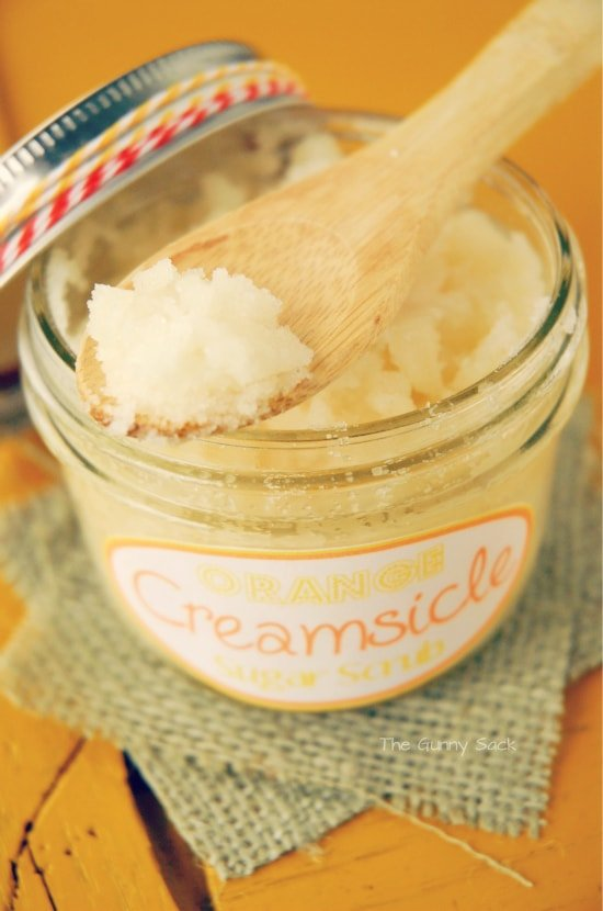 Orange Creamsicle Sugar Scrub Recipe