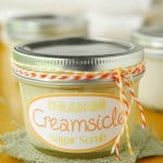 Orange Creamsicle Sugar Scrub Gift In A Jar