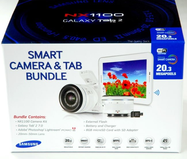 Smart Camera Tab Bundle Samsung