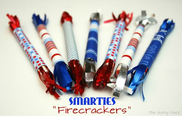 Smarties Firecracker Treats