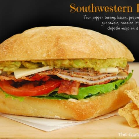 Southwestern BLT with recipe