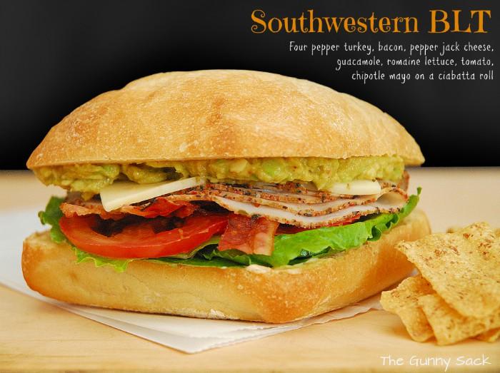 Southwestern BLT Sandwich