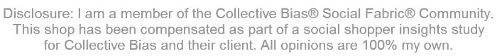 Disclosure: This post is sponsored by Collective Bias and their client. All opinions are 100% my own.