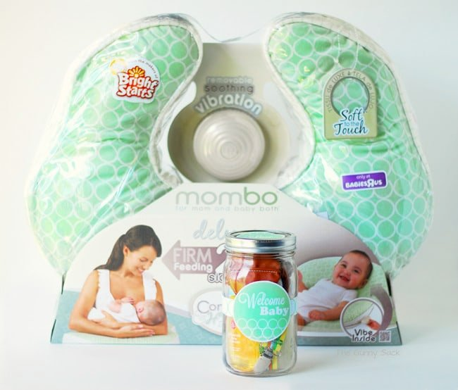 Welcome baby gift in a jar mombo giveaway for Welcome home decorations for baby