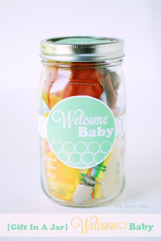 Gift In A Jar Welcome Baby