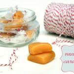 Microwave Vanilla Caramels