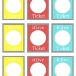 iGive Tickets Blank