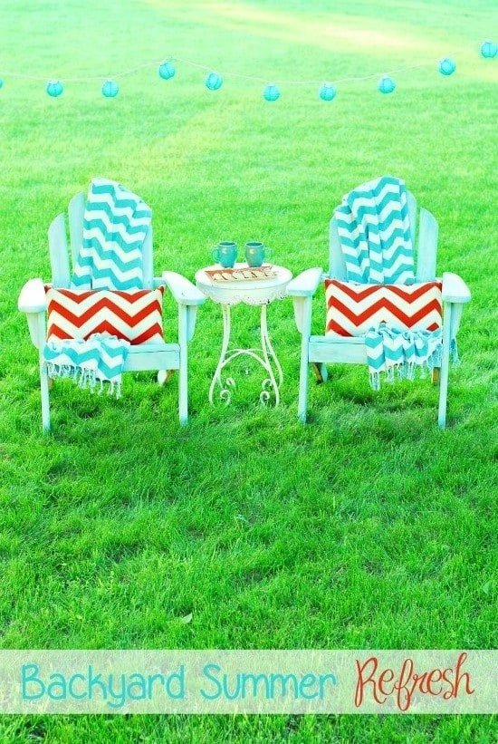 Backyard Summer Refresh with World Market