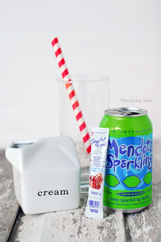 Cherry Cream Soda Ingredients