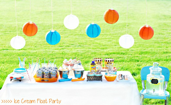 Ice Cream Float Summer Party