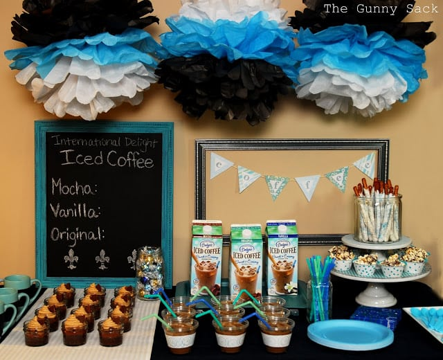 Iced Coffee Party