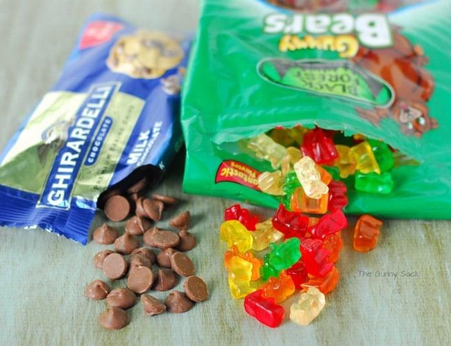 ghirardelli chocolate Black Forest Gummy Bears