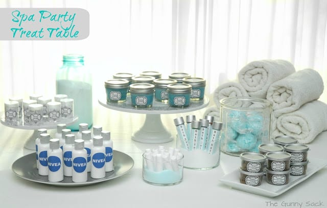 Party Ideas for Ice Cream Social Pre-Scooped Ice Cream Pails