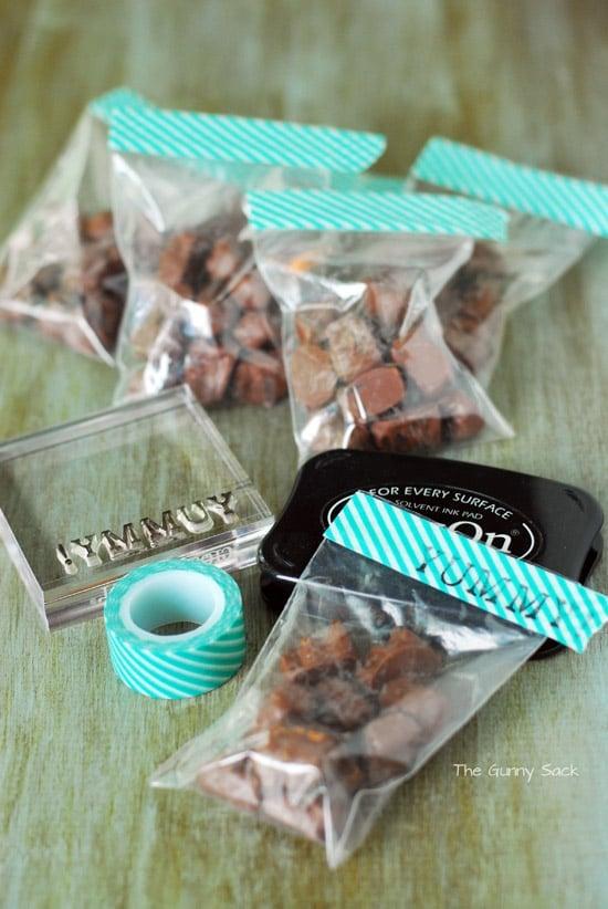Yummy Chocolate Labels