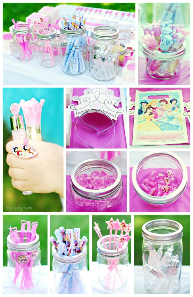 Disney Princess Party Treat Bags
