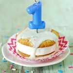 Ice Cream Sandwich Birthday Cupcakes