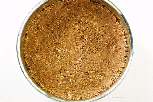 peanut butter cookie crust