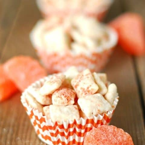 Orange Creamsicle Puppy Chow