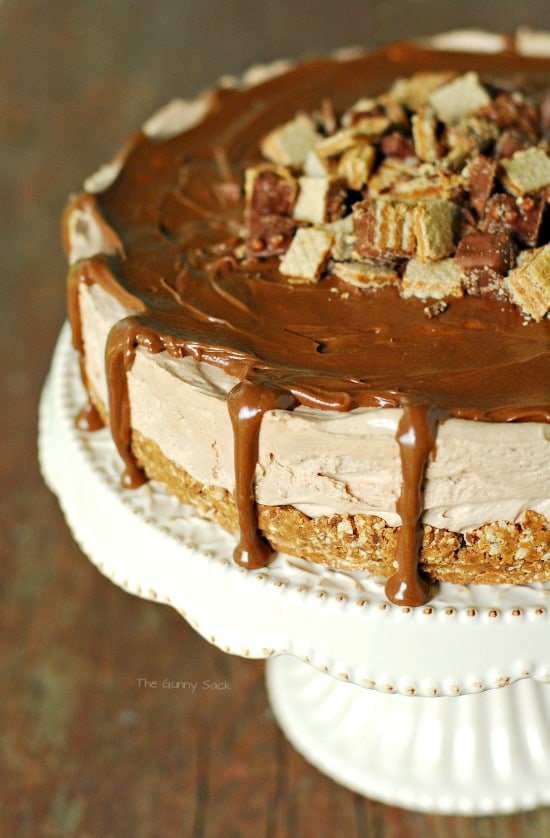 Peanut Butter Silk Pie Topping