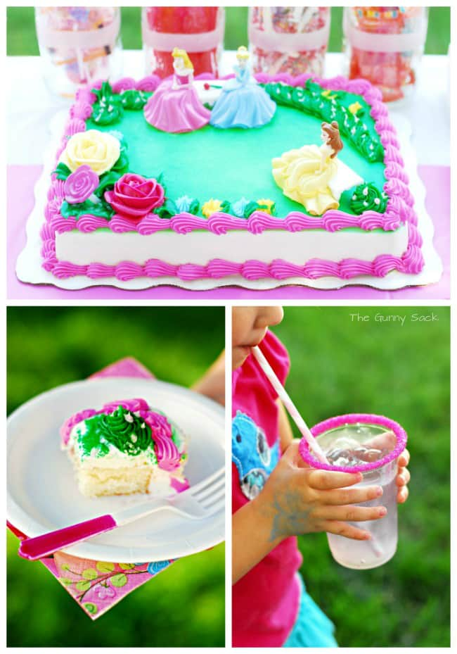 Princess Party DecoPac Cake