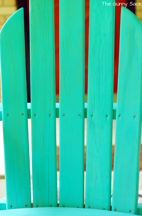 How To Paint An Adirondack Chair