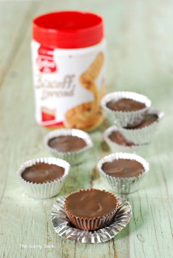 Biscoff Spread Chocolate Cups Recipe
