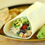 Chipotle Chicken and Rice Burrito