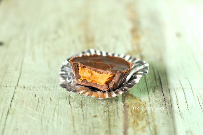 Chocolate Biscoff Cups Bite
