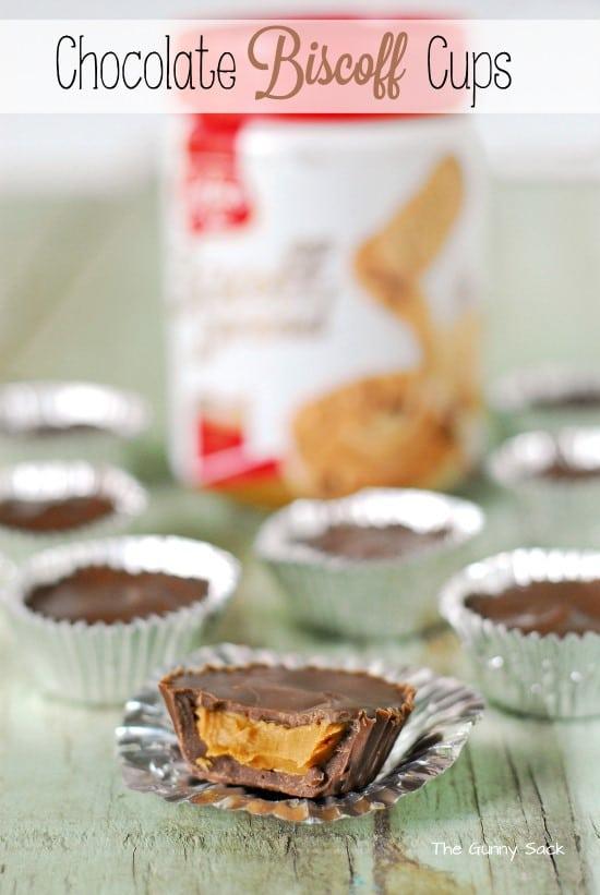 Chocolate Biscoff Cups Recipe