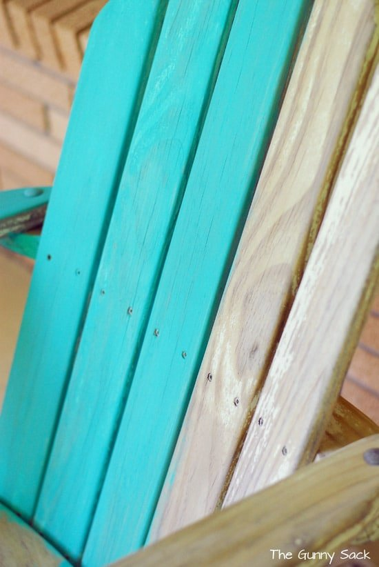 Repaint Outdoor Chair