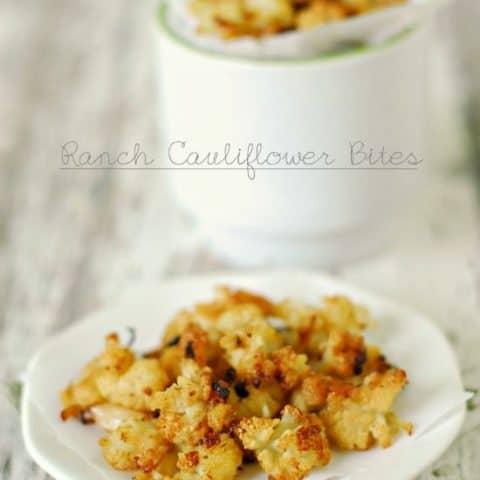 Ranch Cauliflower Bites Recipe
