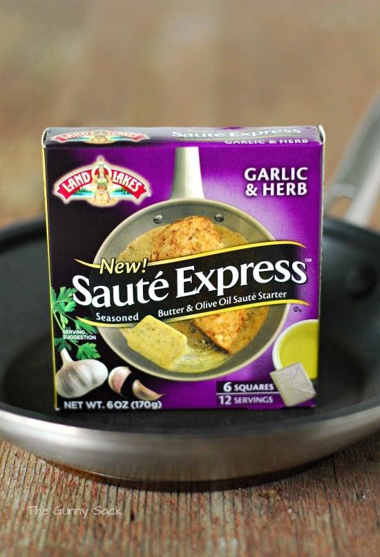 Saute Express Garlic Herb Land O Lakes