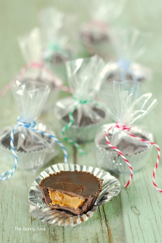 Wrapped Chocolate Biscoff Cups