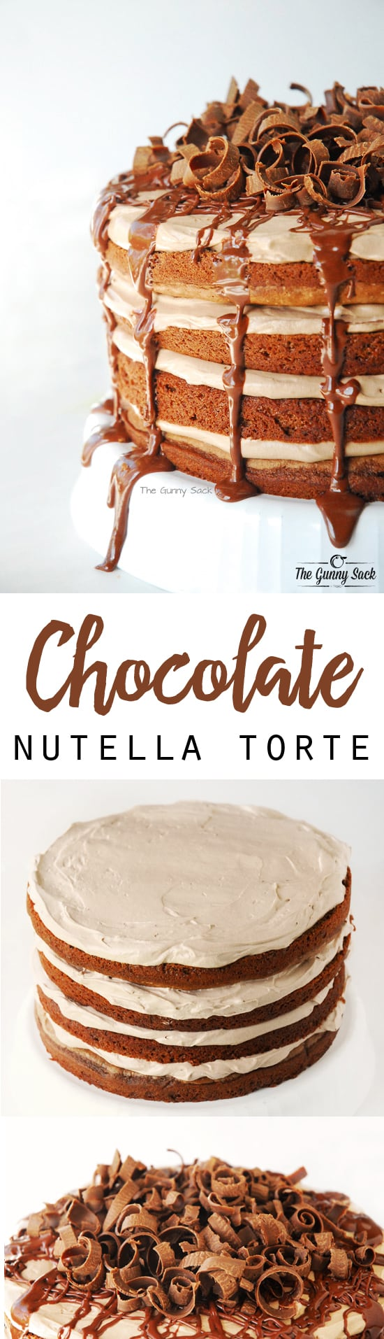 Chocolate Nutella Torte Recipe