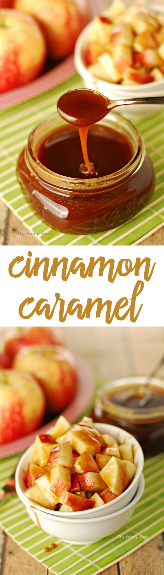 Cinnamon Caramel Recipe
