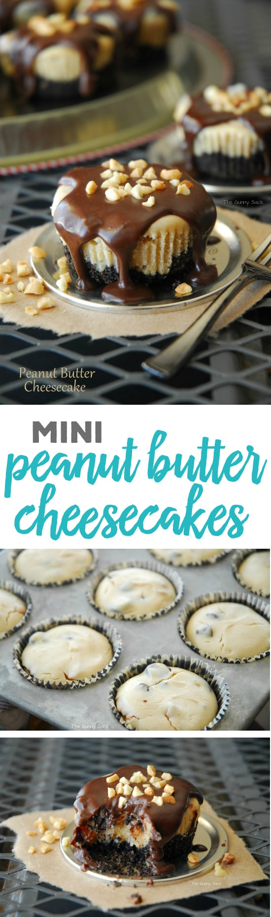 Mini Peanut Butter Cheesecakes Recipe