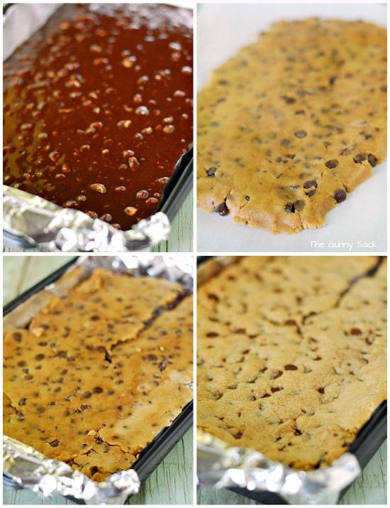 Peanut Butter Crownies steps