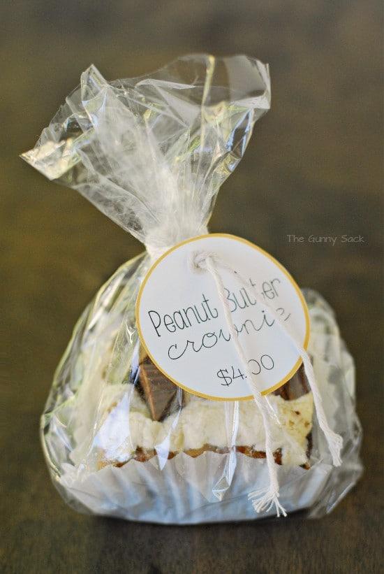 Peanut Butter Cup Crownies Or Brookies Recipe