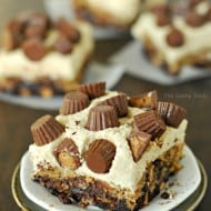 Peanut Butter Cup Crownies