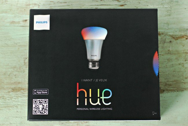 Philips Hue Personal Wireless Lighting package