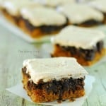 Pumpkin Nutella Swirl Bars Recipe
