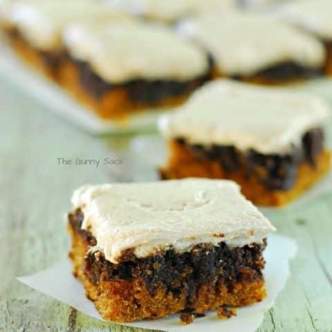 Pumpkin Nutella Swirl Bars Recipe