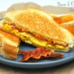 Bacon Egg Grilled Cheese Sandwich