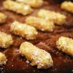 Baked Mozzarella Cheese Sticks
