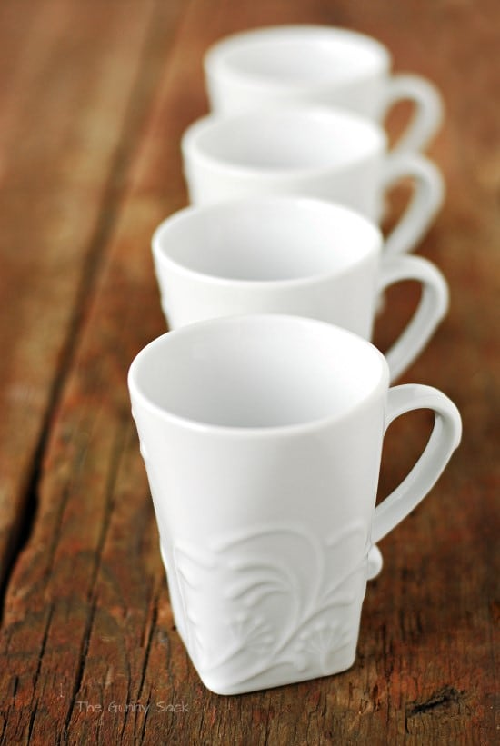 Corelle Coffee Cups