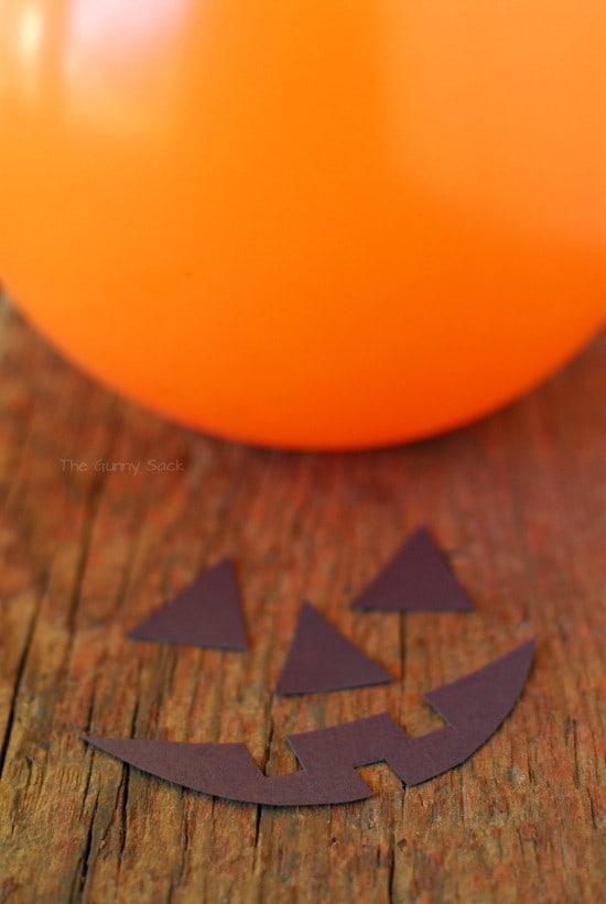 Jack o Lantern Balloon