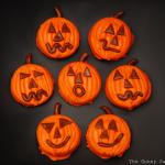 Pumpkin Oreo Cookies